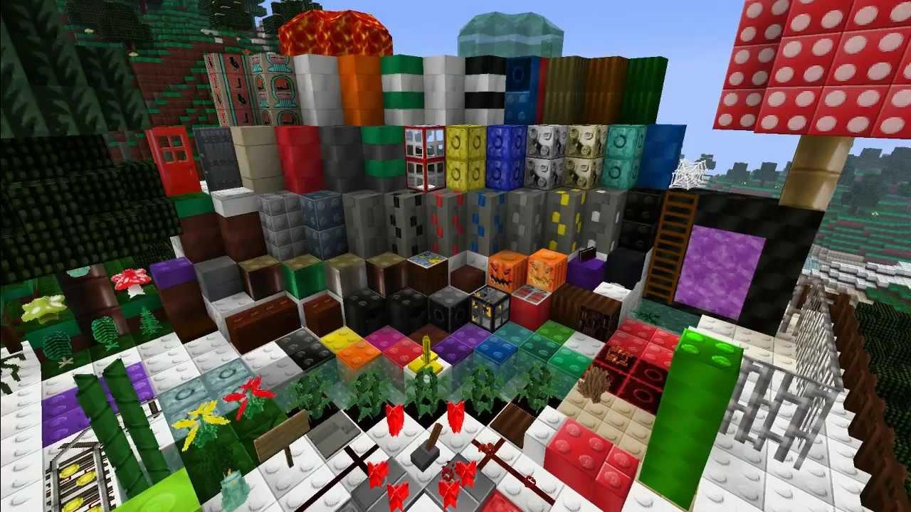Minecraft Lego Texture Pack Tutorial & Download HD (German/Deutsch) - YouTube