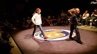 Battle LO Spring 2018 Bgirl Elina (MRC) VS Bgirl Charline (FK)  Battle Exibition //