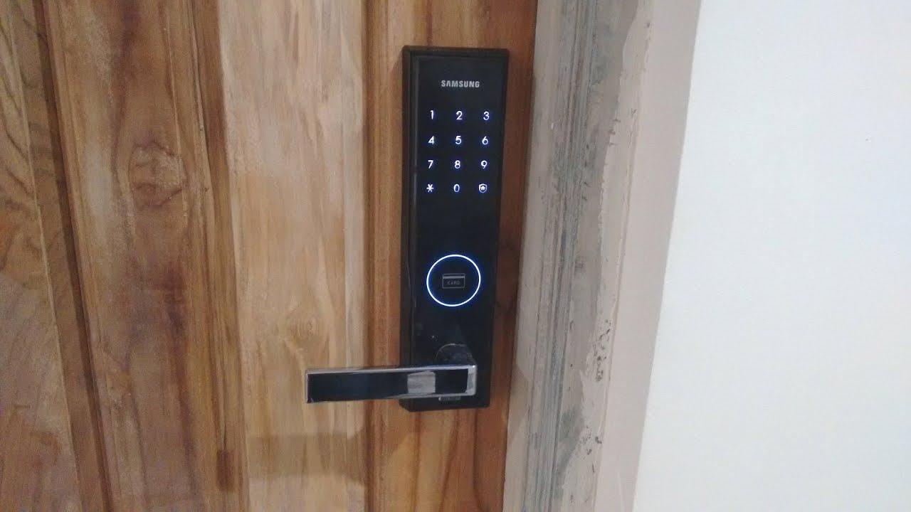 Best Digital Security Door Lock - YouTube