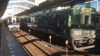 南海 特急サザン 和歌山市行き 到着〜発車