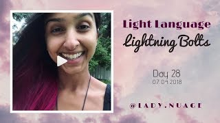 Light Language - Lady Nuage - Lightning Bolt #28
