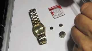 Как выбрать батарейку в наручные часы / How to choose a battery wrist watch(В часах села батарейка. Подумаешь, пошёл в магазин да и купил.... делов то. Но потом выясняется, что на родной..., 2014-10-18T19:28:22.000Z)