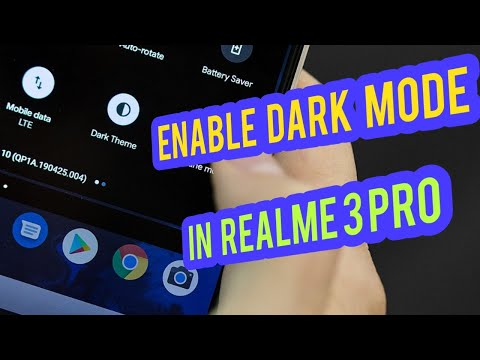 Dark Mode In Realme 3 Pro (Awesome Look) | Best Modification (High Quality)