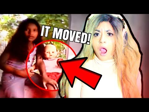 DOLLS MOVING CAUGHT ON CAMERA!!! | SCARY...