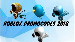 Roblox Promocodes May 2018