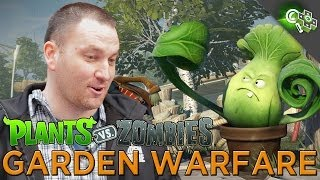 Plants Vs. Zombies: Garden Warfare! GAMEPLAY and Interview with Producer Brian Lindley