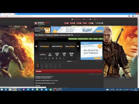 The Witcher 2 - Crash to Desktop FIX - Steam-Version - German