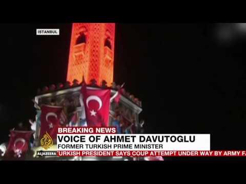 Sayın Ahmet Davutoğlu, Al Jazeera English'e darbe girişimini ve demokrasi direnişini anlattı.
