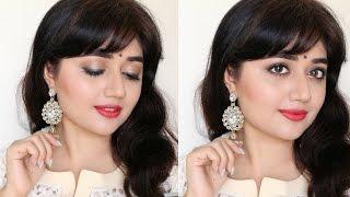 Easy eye makeup tutorial for a summer wedding