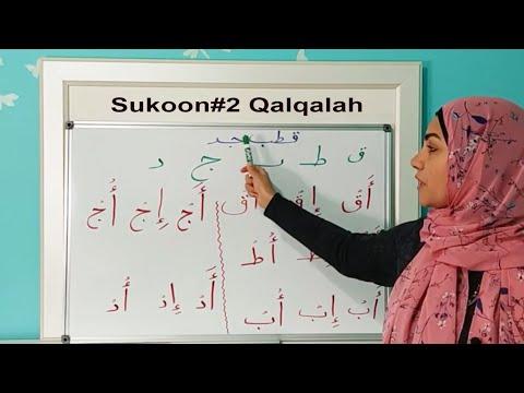 Qalqalah or shaking letters