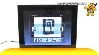 Sidex.ru: Видеообзор цифровой фоторамки Diframe DF-F10.4S (rus)