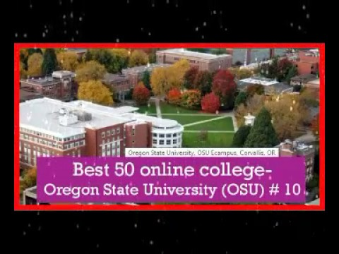 Best 50 online college in usa  Oregon State University OSU # 10