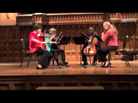 Mozart Quartet in C Major for Flute, Violin, Viola and Cello