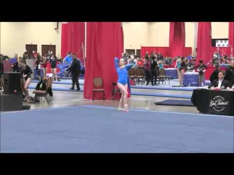 Sarah Murphy Level 9 Kurt Thomas Invitational 2016