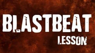 BLASTBEAT урок (26 эпизод, drum lessons)