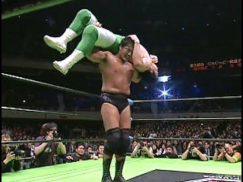 Kenta Kobashi vs. Mitsuharu Misawa (March 1st, 2003) - YouTube