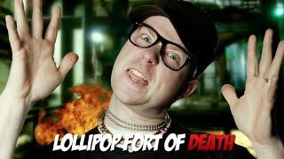 "DIY Tiny House/Fort Hip-Hop? ""Lollipop Fort Of Death"" (Epic Lloyd inspired)"
