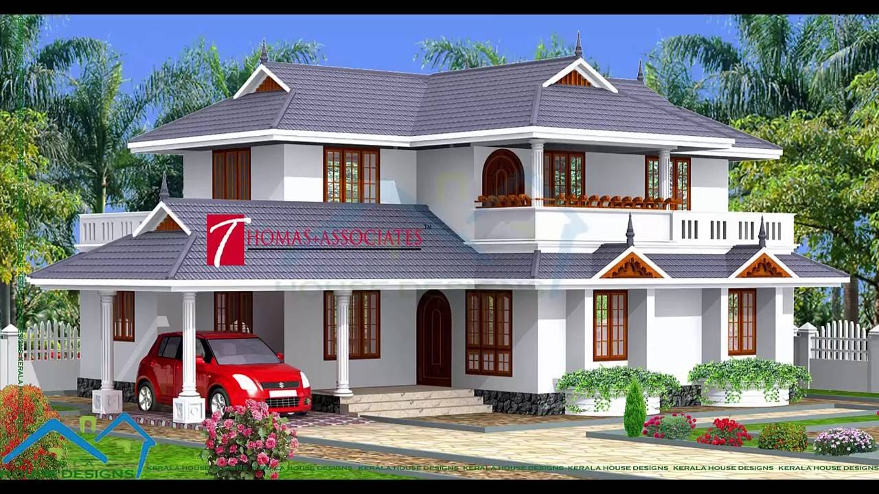 Kerala House Model   Low Cost Beautiful Kerala Home Design   2016   YouTube