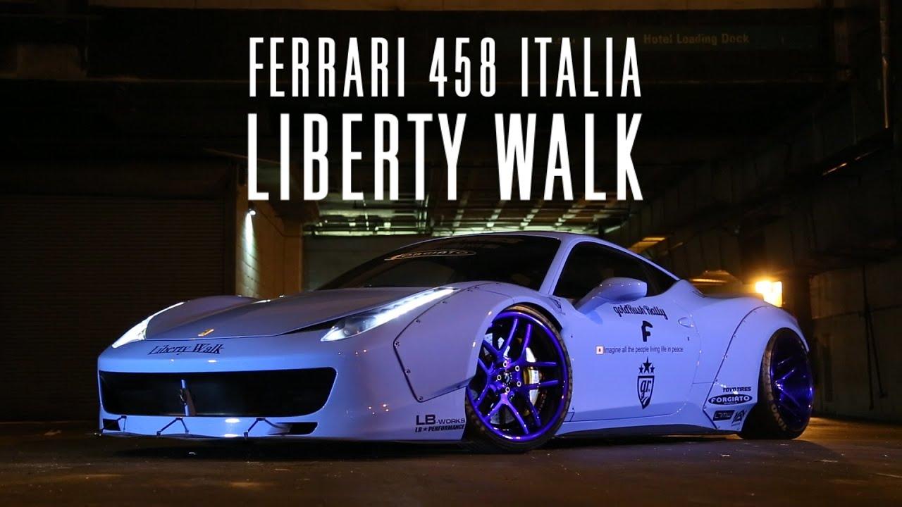 Ferrari 458 Italia Wallpaper Hd Ferrari 458 Liberty Walk Webmotors Nos Estados Unidos