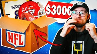 GUESS THE PRICE - KEEP THE ITEM!! $3,000 NFL MYSTERY BOX EDITION