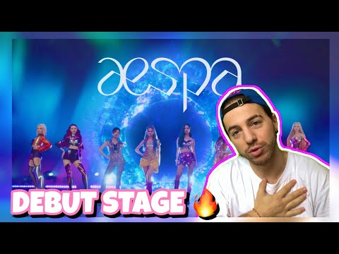 aespa 에스파 'Black Mamba' The Debut Stage I Z DANCER REACTION