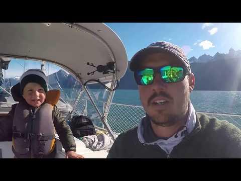 Yahtzee cruises Alaska's Lynn Canal