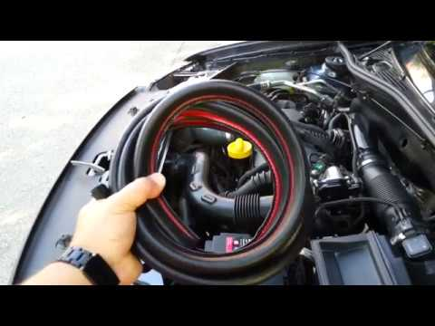 Dacia Duster - Rubber seal installation to engine compartment