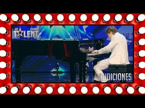 Como Chopin: Este chico de 15 años es un virtuoso del piano | Audiciones 8 | Got Talent España 2018