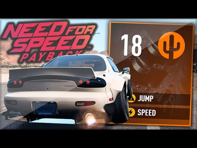 Need For Speed Payback - INSANE Mazda RX7 391 KM/H RACE BUILD! (Best Upgrade Tutorial)