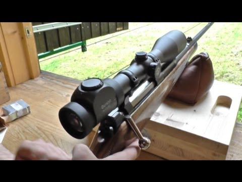 Shooting a Mauser M03 caliber 8x57IS