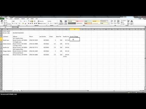 Excel Tutorial 1 - Case Problem 4 - YouTube