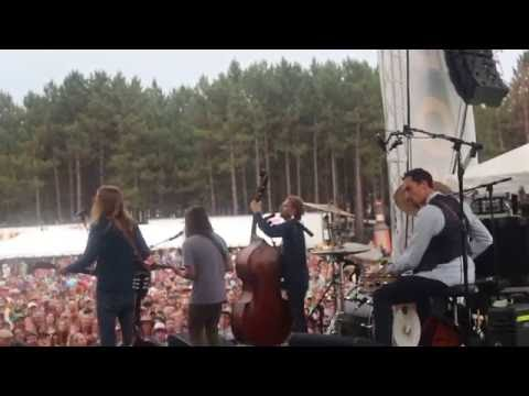 The Wood Brothers feat. Paul Hoffman of Greensky Bluegrass @ Blue OX 2016