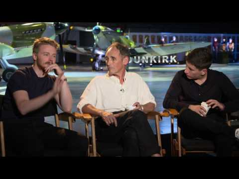 Dunkirk: Jack Lowden, Mark Rylance, & Barry Keoghan Official Movie Interview