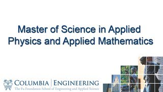 Master of Science in Applied Physics and Applied Mathematics thumbnail