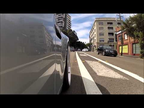 E92 M3 gopro camera Hero2 test with external microphone