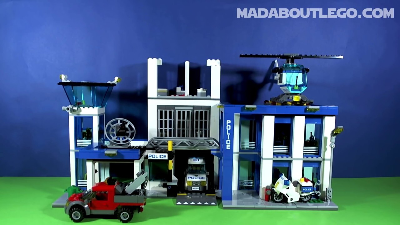 lego city police station 60047 youtube. Black Bedroom Furniture Sets. Home Design Ideas