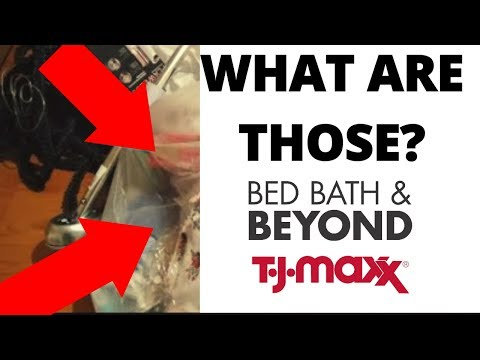 UNBAGGING OUR TJ MAXXX & BED BATH & BEYOND DUMPSTER HAUL!