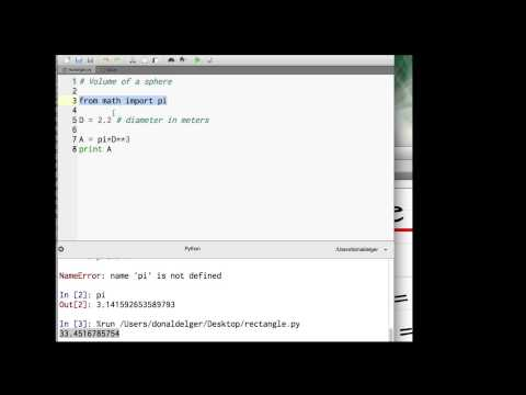 Python Tutorial for Engineers: #2