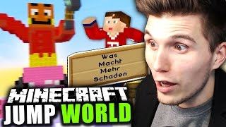 MINECRAFT QUIZ & GEILE PALUTEN MAPS! ✪ MINECRAFT JUMPWORLD mit Izzi