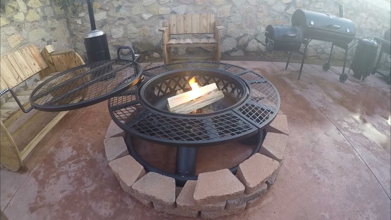 big horn ranch fire pit unboxing and review