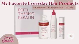 Estel Hair Keratin Treatment Кератин для волос Keratin BrazilianBlowDry HairCare Dushanbe