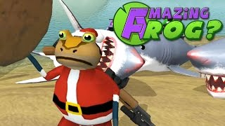 CHRISTMAS PRESENT DELIVERY - Amazing Frog Short - PC Gameplay Part 25