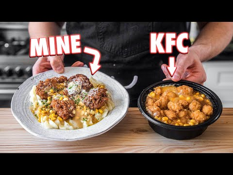 Making The KFC Famous Bowl At Home   But Better