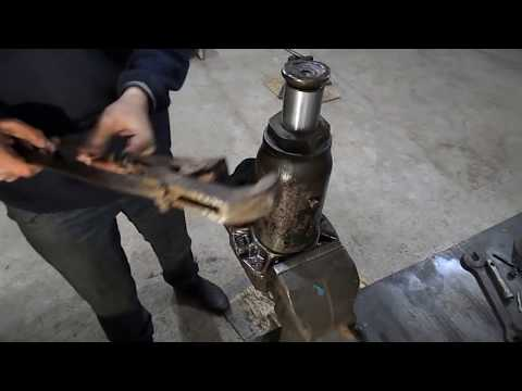 ремонт ручного гидравлического домкрата .repair manual hydraulic Jack