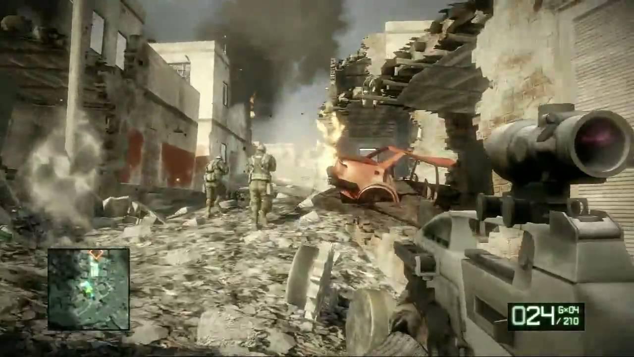 Battlefield bad company 2 mcburger`s moments episode 1 youtube.
