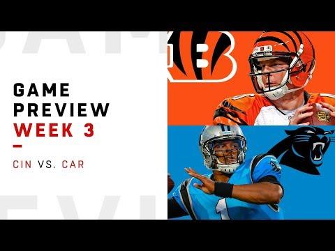 Cincinnati Bengals vs. Carolina Panthers | Week 3 Game Preview | NFL Playbook