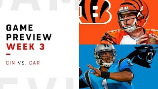 Cincinnati Bengals vs. Carolina Panthers | Week 3 Game Preview | NFL Playbook