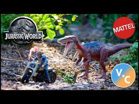 Fallen Kingdom Battle Damage Ultimate Baryonyx Breakout Figure Set