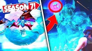 *NEW* FLOATING ICE BALL *SHATTERS* RELEASING ICE KINGS SECRET CUBE WEAPON! SEASON 7 UPDATE!: BR