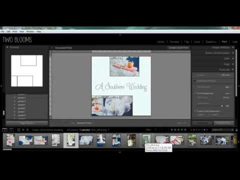 How to create custom photo albums in Lightroom
